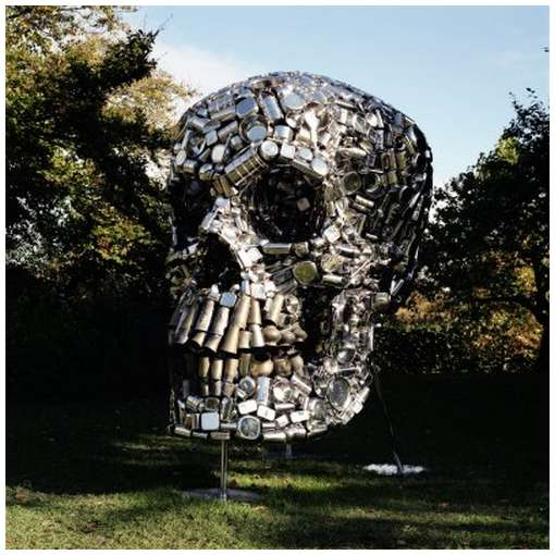 Skull-Sculpture-by-Subodh-Gupta-3