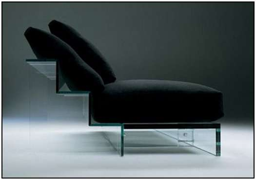 Glass-Sofa