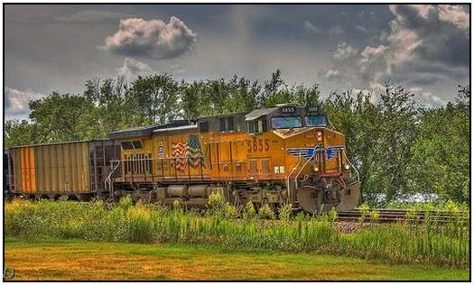 HDR-Images-of-Old-Trains