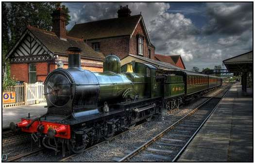 HDR-Images-of-Old-Trains-2
