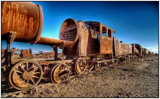 HDR-Images-of-Old-Trains-3