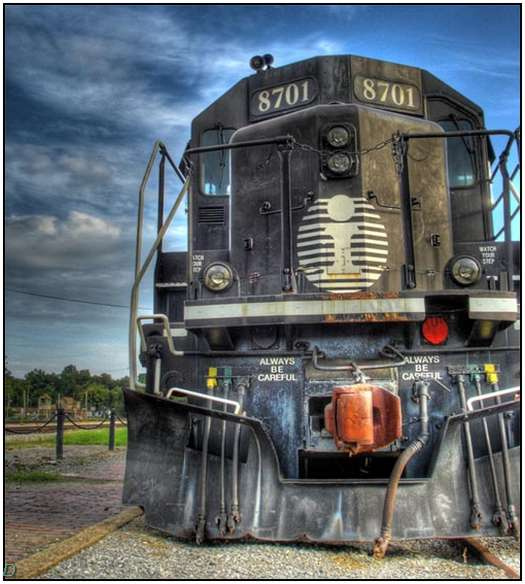 HDR-Images-of-Old-Trains-4