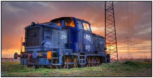 HDR-Images-of-Old-Trains-7
