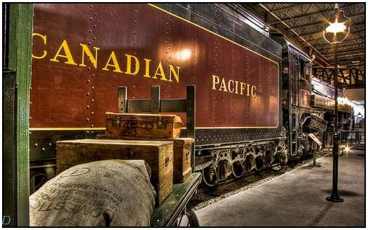 HDR-Images-of-Old-Trains-9