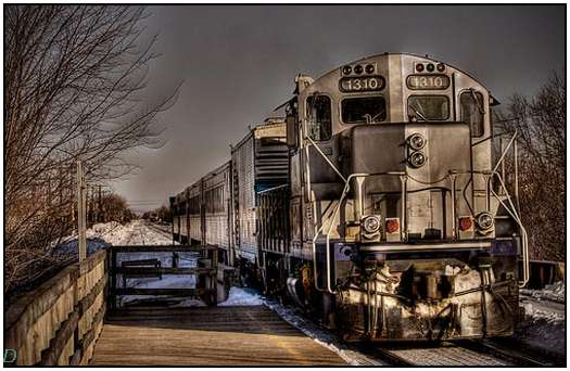 Colorful Hdr Images Of Old Trains